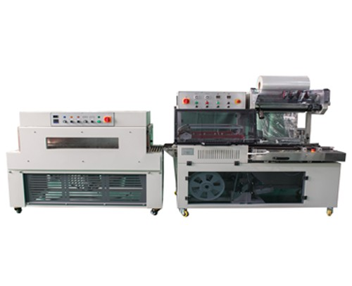 DQL5545+DSC4520 Automatic L-type sealer with shrink packaging machine