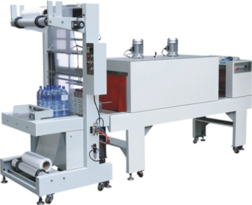 BZJ-5038B +5040A Semi- Automatic Sleeve Shrink Packgaing Machine